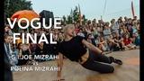 Электронный берег 2018 - Dance Battle by FDC - Vogue final - G.I.Joe Mizrahi vs Polina Mizrahi (win)