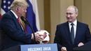 CrossTalk Путин и Трамп сделали первые шаги к сближению России и США