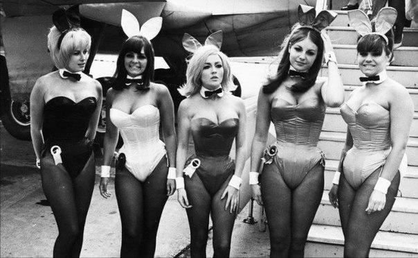 Зайчики Playboy, Лондон, 1965 г.