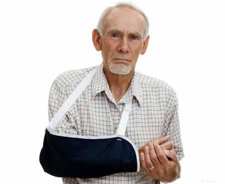 Слинг может потребоваться для лечения травмы запястья.