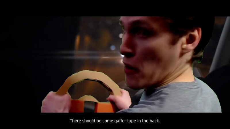 Stunt character from Late Shift Jerma985 Green Screen