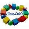 Детские именные стикеры  CleverLabel
