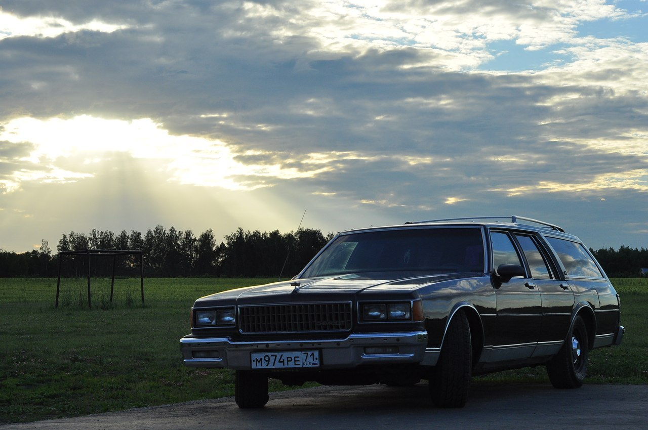 Chevrolet Caprice Classic Wagon 1989 from Russia X1VRqwTKwgE