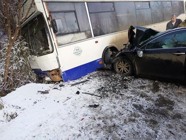 ДТП на 2 км автодороги Усть-Илимск – п. Железнодорожный