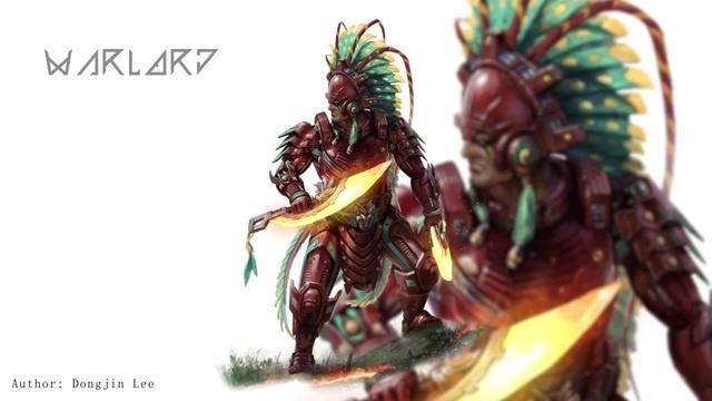 Aztec[Dongjin Lee Art]