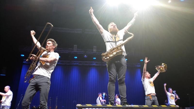Brevis Brass Band - Сиськи (Казань, 3.07.17)