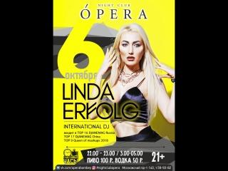 Linda Erfolg @ Opera 06.10.2018