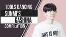 Idols dancing Sunmi's Gashina EXO GFRIEND WEKI MEKI TWICE BAP