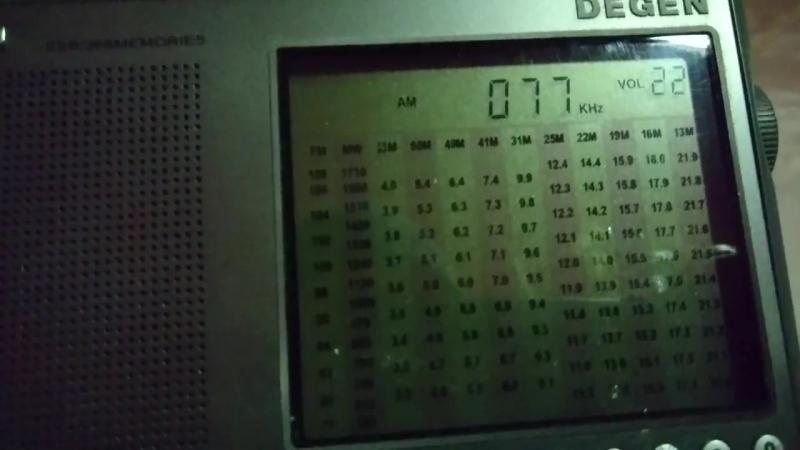 DEGEN 1103 77 KHz DCF77