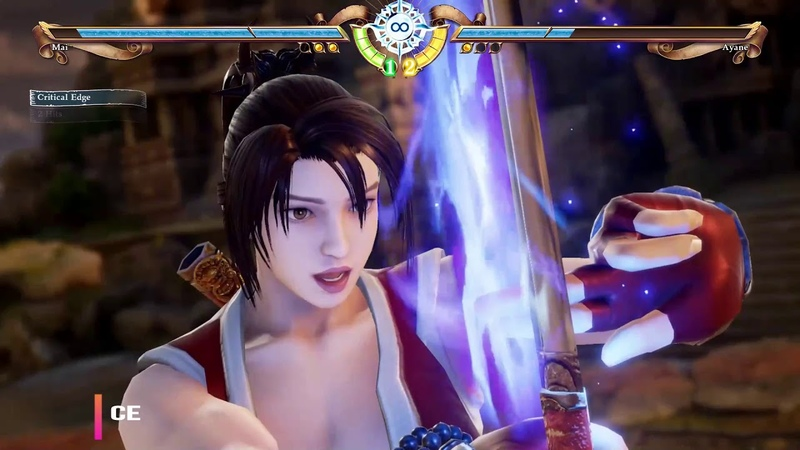 SOUL CALIBUR 6 MAI VS AYANE KUNOICHI WARS