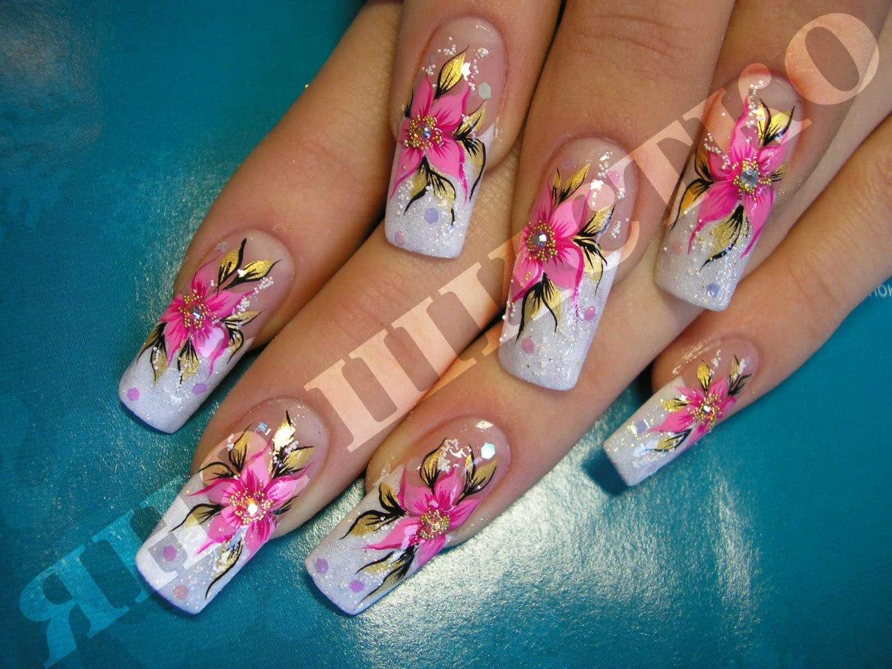 Фото дизайн и роспись ногтей