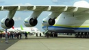 ANTONOV AN 225 CLOSE UP PUSHBACK of WORLDS LARGEST AIRCRAFT at ILA 2018 Air Show