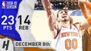 Enes Kanter Full Highlights Knicks vs Nets 2018 12 08 23 Pts 14 Rebounds