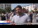 Крымчане чтят память погибшего Главы ДНР Александра Захарченко