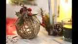 Rustic Twine Ball ornament DIY
