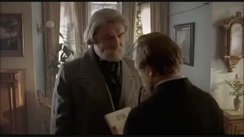 Достоевский и Тургенев. Отрывок из сериала Достоевский, 2011г.