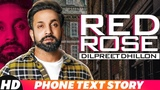 Iphone Text Story Dilpreet Dhillon Red Rose Releasing On 14 Nov Speed Records