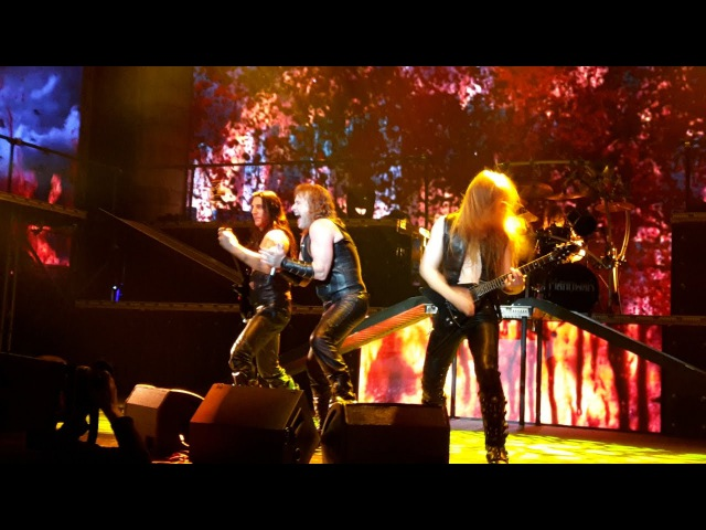 MANOWAR - Black Wind, Fire and Steel - Gods and Kings World Tour 2016