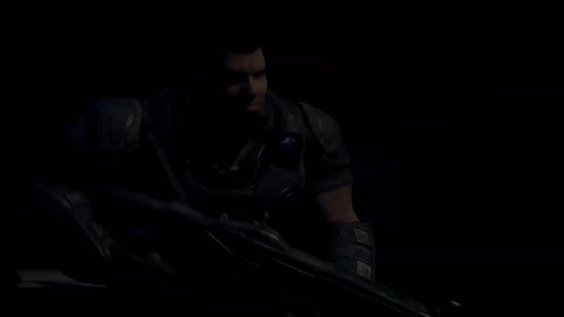 Gears of War : Ultimate Edition - A. Carmine's death scene.