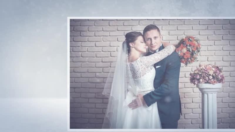 Пример (Зима) Видео поздравление на день рождения для Вашего Мужа