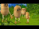 Aloo kachaloo Hindi poem - 3D Animation Hindi Nursery rhymes for children (Aalu kachalu beta )