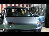 Первые в мире испытания авточехлов для передних и задних сидений автомобилей, оснащенных боковыми подушками безопасности.