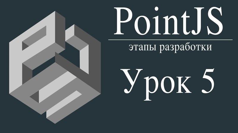 Урок 5. PointJS - Создание игр. Вращение, перемещение, масштаб, анимация прозрачности, смена цвета