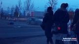 На главной улице Бобруйска скорая с роженицей попала в ДТП. Потребовалась помощь МЧС. Момент ДТП