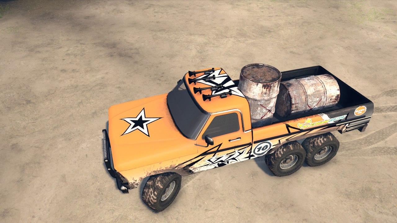 Ford(Truck Fire jump) для Spintires - Скриншот 3