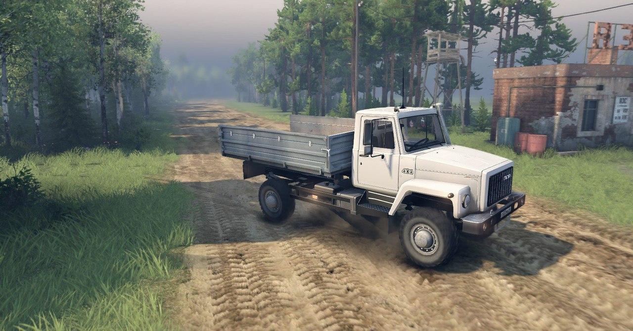 """Газ-САЗ-2506 """"Земляк"""" alpha версия для Spintires - Скриншот 1"""