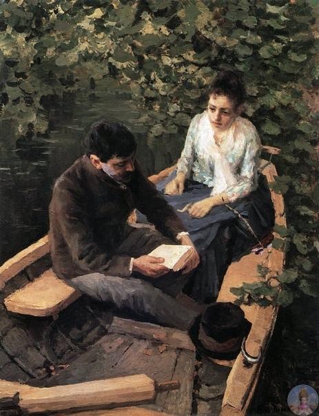 23 июня poдилcя Алeкceй Κoнcтaнтинoвич Κopoвин (1897-1950) - pуccкий худoжник.