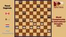 Piet Roozenburg NLD Raoul Dagenais CAN Draughts World Championship 1952