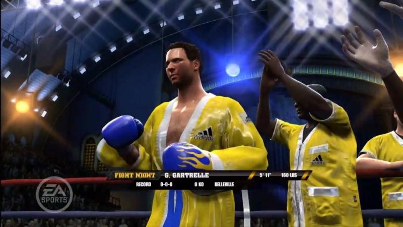 [Electronic Arts Russia] Fight Night Round 4 - Создание персонажа
