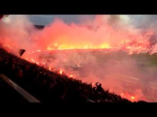 No Pyro No Party - Paok vs Olympiakos 2014 - Cup Game