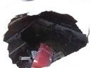 Провал асфальта над ПРУ Подземными Укрытиями