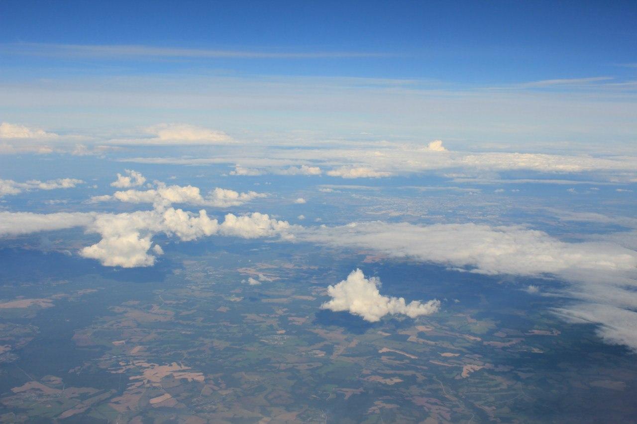 Необыкновенно меняющееся небо