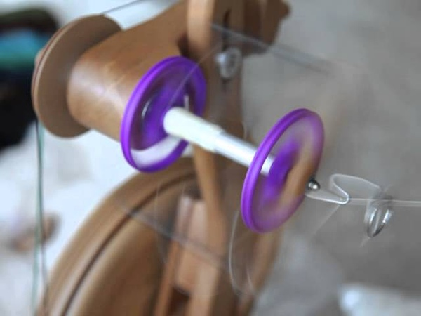 First Test with 3D printed prototype bobbins for Aura