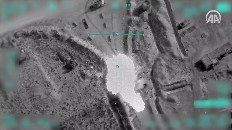 Ликвидация террориста из «красного списка» Исмаил Оздена в иракском Синджаре.
