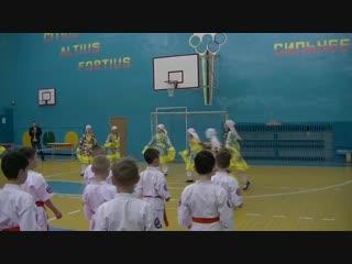 Открытие соревнования по кекусин каратэ среди кадетских школ г. Набережные Челны.