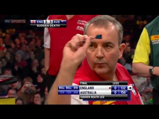 WALL-TO-WALL DRAMA! Sudden death in the 2012 World Cup of Darts Final