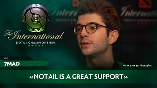 Interview with 7mad: «NoTail is a great support» [RU SUB]