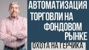 Автоматизация торговли на фондовом рынке Охота на Герчика Скальперский стакан Артема Крамина