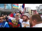 Сербские болельщики зажигательно спели Катюшу