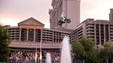 Travis Pastrana Honors Evel Knievel Caesars Fountain Jump