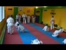 Юні будоканівці які тільки розпочинають свій спортивній шлях тренуються під керівництвом досвідченого сенсея Андрія Гаврилюк