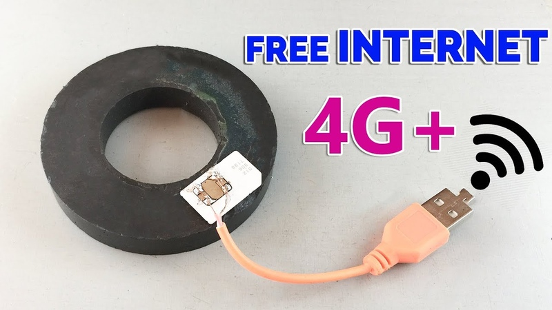 How to Get Free INTERNET 100 - New Ideas 2019 Free internet At home