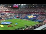 Kогда стадион поёт хором гимн России💪