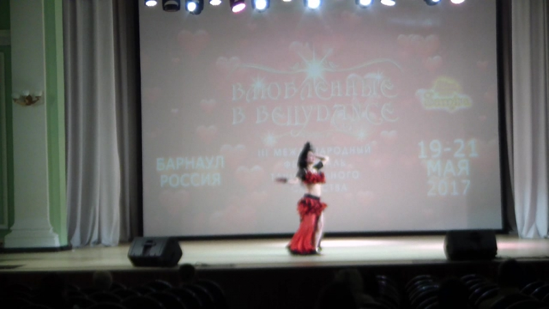 Харчилава Анжелика 2место! Профи Табла-соло, 20мая 2017