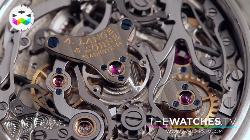 Walkthrough Famous German Watchmaker A. Lange Söhne