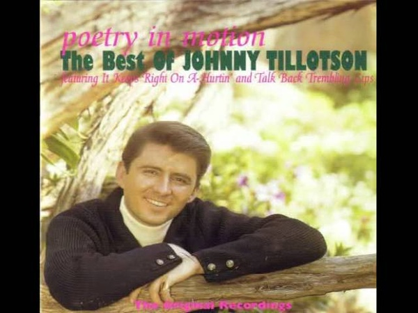 Johnny Tillotson : I Can't Help It (If I'm Still In Love With You)